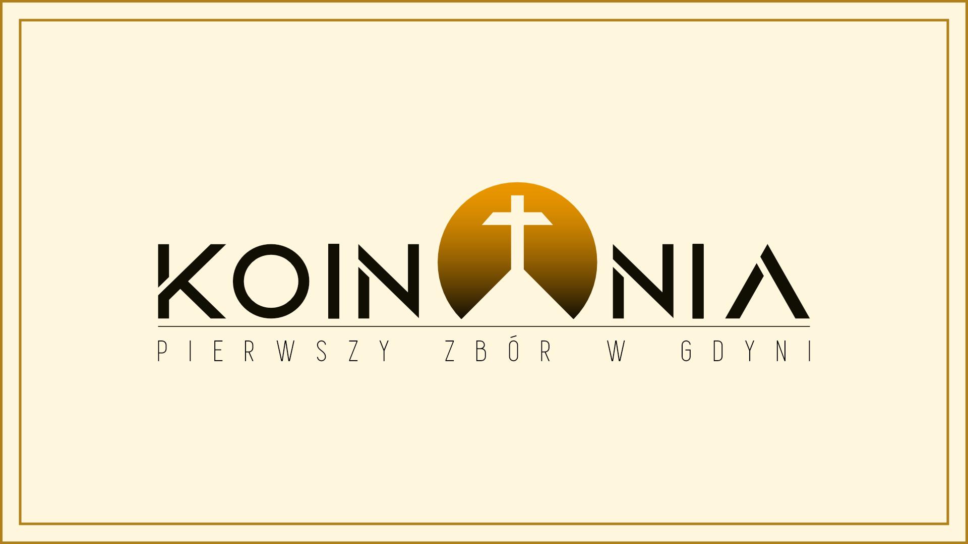 LOGO KOINONIA | PIERWSZY ZBOR W GDYNI | KZGDYNIA.PL